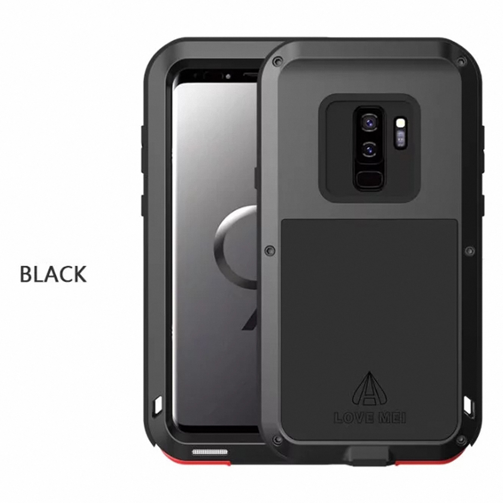 For About s9 8 Silicone Cover Case Mei Metal Samsung note Details Galaxy S8 Outdoor Love S9